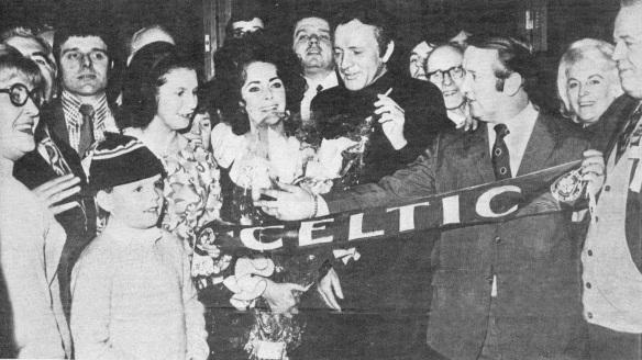 Elizabeth Taylor, Richard Burton, and Pat Connelly