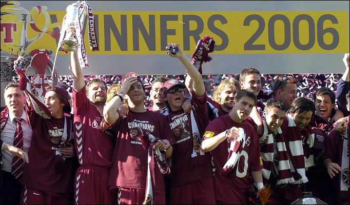 Hearts' Scottish Cup Heroes of 2006 – Where are they now?
