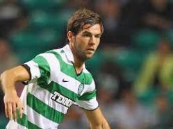 Joe Ledley in his Celtic days