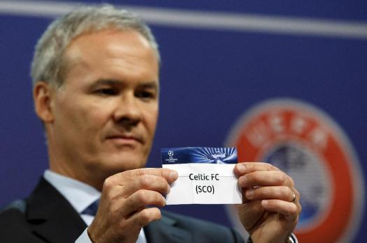 Switzerland Soccer Champions League Draw